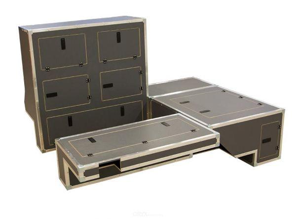 Möbel Innenausbau System Set, passend für Defender 110