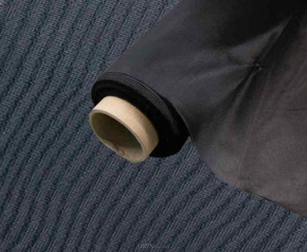 Moskitonetz schwarz flammschutzhemmend, 1,45m breit, 5m Rolle