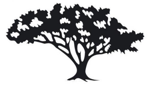 """Aufkleber """"Baum"""" Version 2 braun"""