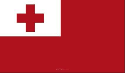 "Aufkleber ""Tonga Flagge"" 100x60"