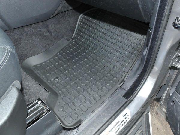 Gummi-Fußmatten Set, vorne + hinten, passend für Discovery 3+4