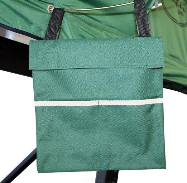 Schuhtasche für Dachzelt, grün