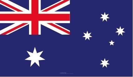 "Aufkleber ""Australien Flagge"" 150x90"