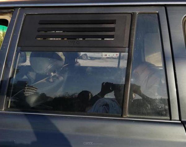 Lüftungsgitter / Frischluftgitter, für Toyota J8 Serie links