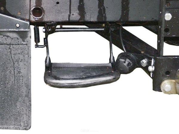 Trittstufe, klappbar, hinten, passend für Defender