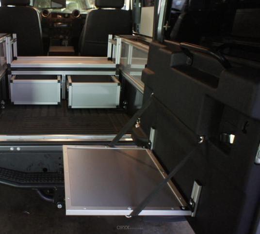 Tisch / Küchenboard Hecktür, passend für Defender