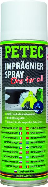 "Imprägnierspray ""One for All"" 500 ml, Grundpreis pro Liter 3,95 Euro"