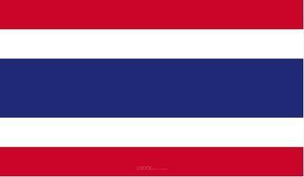"Aufkleber ""Thailand Flagge"" 100x60"