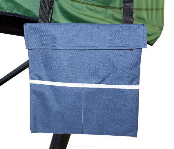 Schuhtasche für Dachzelt, blau