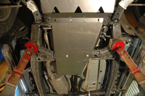 Unterfahrschutz Getriebe, passend VW Amarok, 2,5mm Stahl