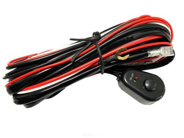 Kabelsatz mit Schalter, für Zusatzscheinwerfer oder Arbeitsscheinwerfer