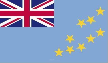"Aufkleber ""Tuvalu Flagge"" 150x90"