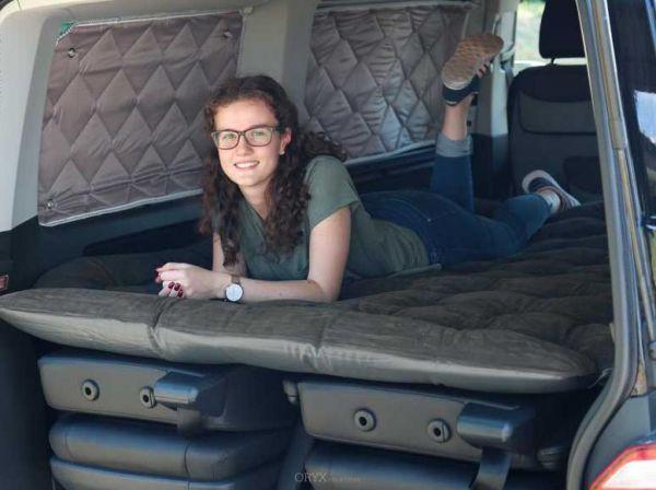 Matratze, selbstaufblasend für Bus T5 und T6 Multivan