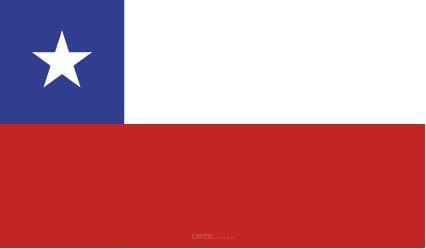 "Aufkleber ""Chile Flagge"" 150x90"