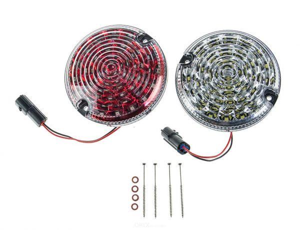 LED Rückfahrscheinwerfer weiß + Nebelschlußleuchte rot