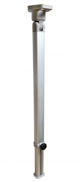 Aluminium-Klapptischfuß, Höhe 555–765 mm, Gelenk oben