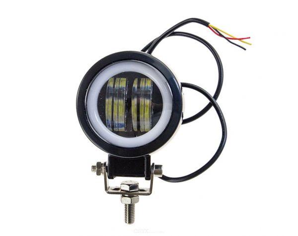 """LED Arbeitsscheinwerfer """"Round"""" 40W"""
