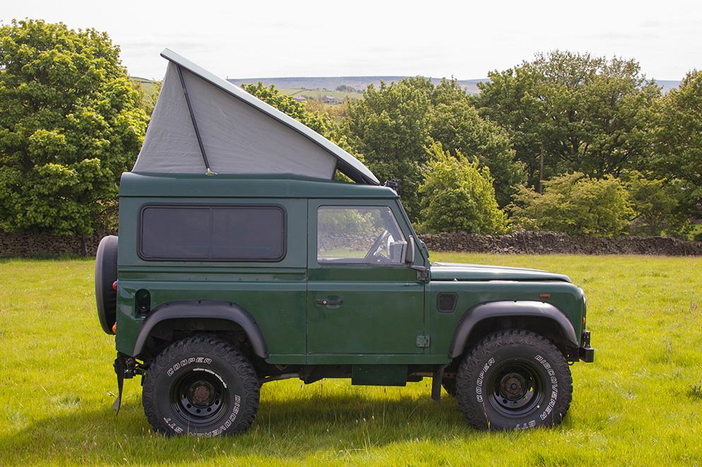 Pop Top Roof For Sleeping Fits For Land Rover Defender 90