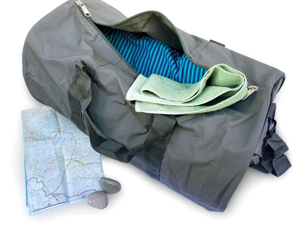 PINK HYENA Reisetasche / Safari Bag