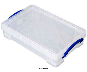 Really Useful Box Aufbewahrungsbox 4 Liter, 395x255x88mm