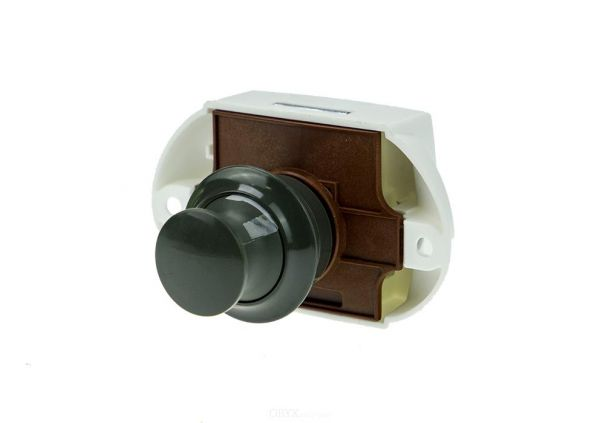 Push Lock - Möbelschloss, grau