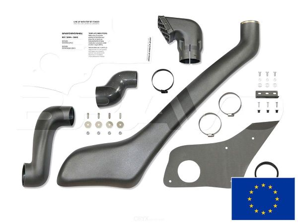 Snorkel / Schnorchel passend für Nissan Navara 2005-2009