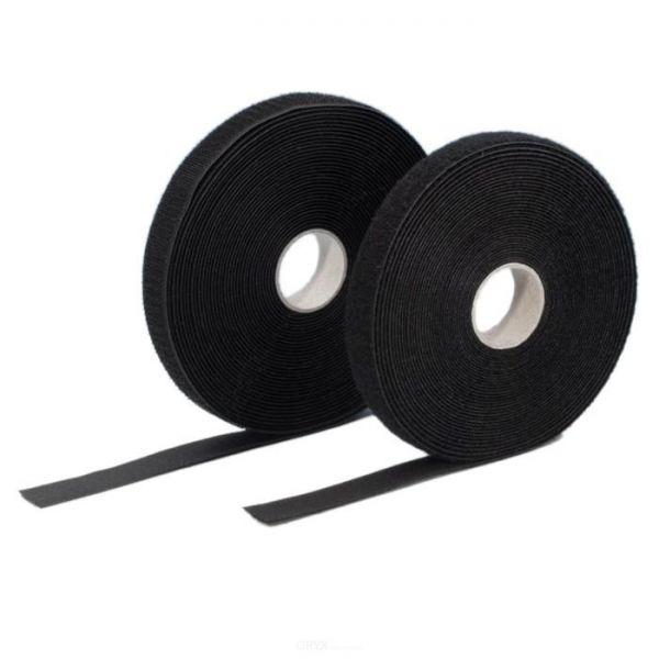 Haken und Flausch Klettband Doppelrolle selbstklebend 20 mm breit