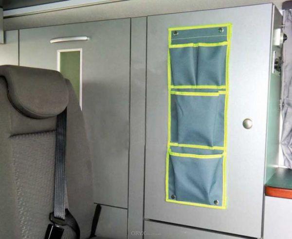 Car Organizer, 150x575mm, grau/grün