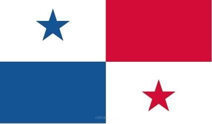 "Aufkleber ""Panama Flagge"" 150x90"