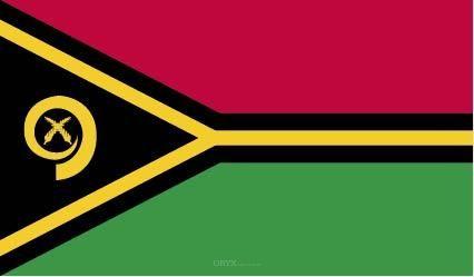 """Aufkleber """"Vanuatu Flagge"""" 100x60"""