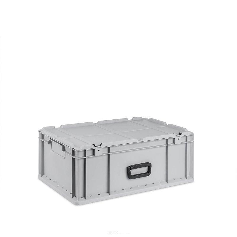 eurobox mit deckel 600mm 44 liter boxen und kisten innenausbau oryxsolutions. Black Bedroom Furniture Sets. Home Design Ideas