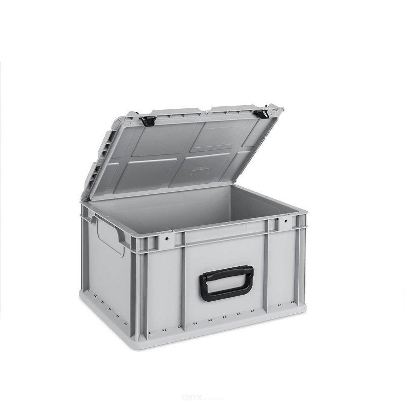 eurobox mit deckel 20 liter boxen und kisten innenausbau oryxsolutions. Black Bedroom Furniture Sets. Home Design Ideas