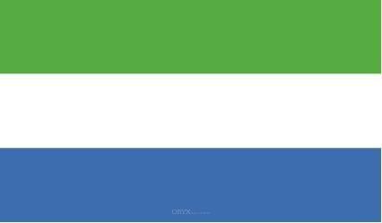 "Aufkleber ""Sierra Leone Flagge"" 150x90"
