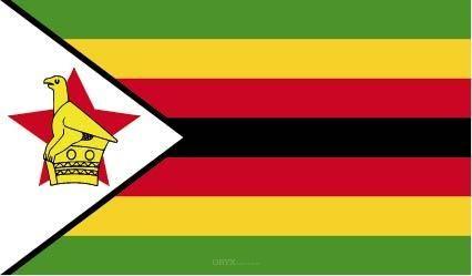 "Aufkleber ""Simbabwe Flagge"" 150x90"