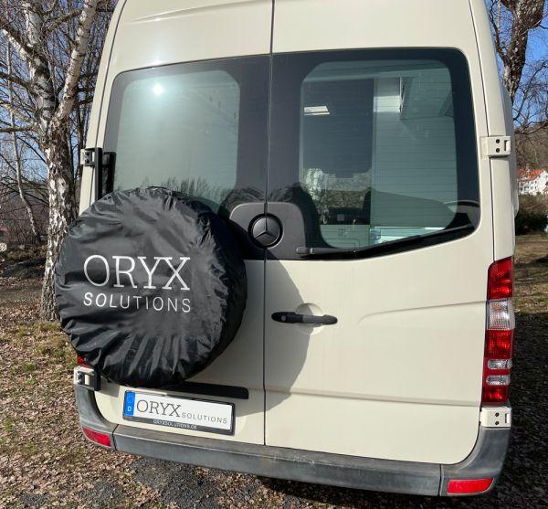 Reserveradabdeckung, schwarz, Oryx-Solutions