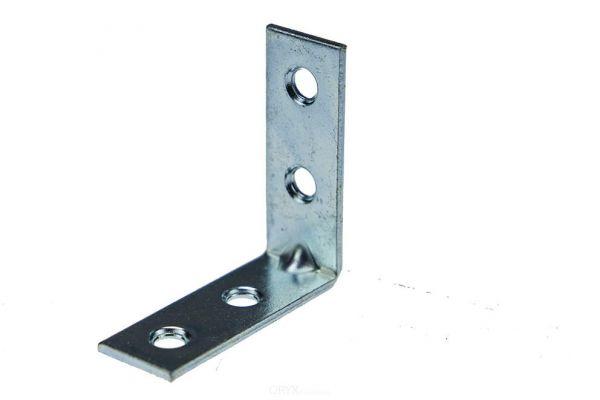 4 Stück Stuhlwinkel, 40 x 40 mm, Stahl