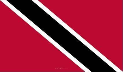 """Aufkleber """"Trinidad und Tobago Flagge"""" 150x90"""