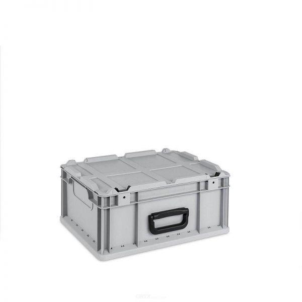 Eurobox, mit Deckel, 16-Liter