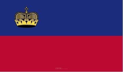 """Aufkleber """"Liechtenstein Flagge"""" 100x60"""