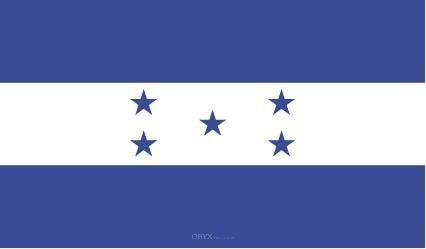 """Aufkleber """"Honduras Flagge"""" 100x60"""