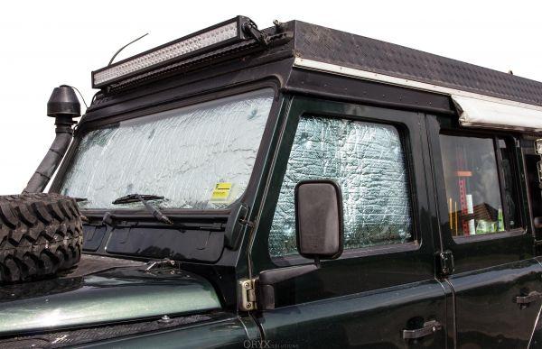 Thermomatten, für Land Rover Defender, Fahrerhaus 3-tlg.