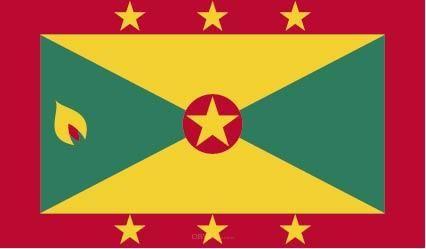 "Aufkleber ""Grenada Flagge"" 100x60"