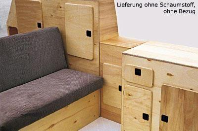 Möbelpaket Jolly für VW Bus T3 79-92
