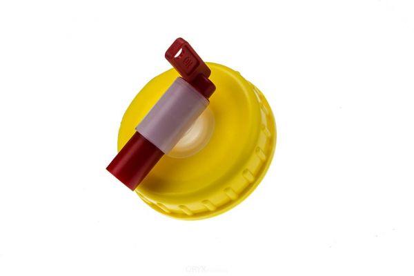 Schraubverschluß mit Auslaufhahn für DIN 96 Kanister