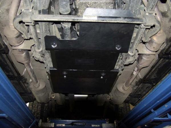 Unterfahrschutz passend für Mercedes Benz G Typ 463, 2mm Stahl