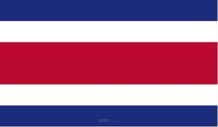 "Aufkleber ""Costa Rica Flagge"" 100x60"