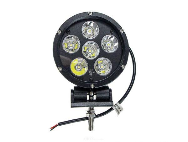 LED Zusatz- Fernscheinwerfer 60W, mit Zulassung, 127mm