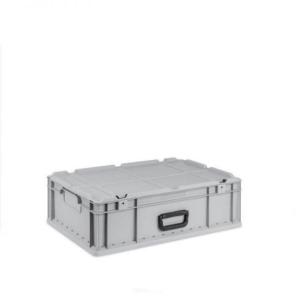 Eurobox, mit Deckel, 600mm, 34-Liter