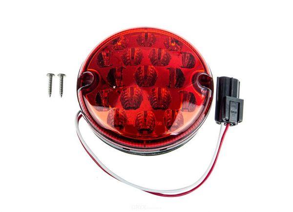LED Nebelschlußleuchte, rot, 95mm, passend für Land Rover Defender