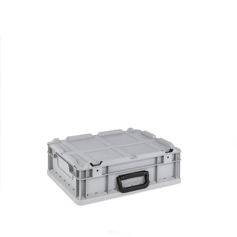 eurobox mit deckel 11 liter boxen und kisten innenausbau oryxsolutions. Black Bedroom Furniture Sets. Home Design Ideas